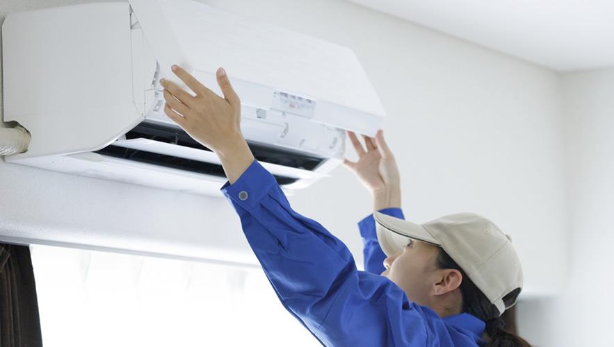 エアコン取替、修繕
